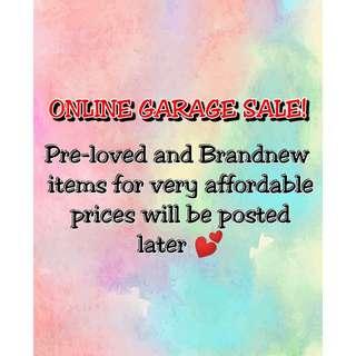 Online Garage Sale