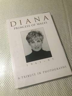 Princess Diana Coffee Table Book