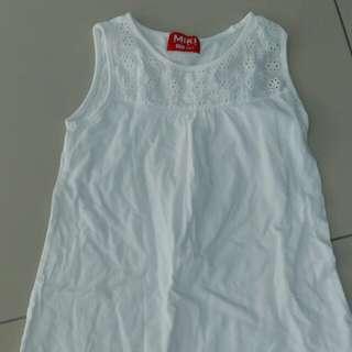 Miki Kids sleeveless dress 4-5yo