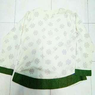 Flakes Batik Top
