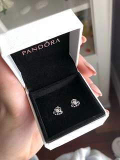 The Pandora My Princess Tiara Stud Earrings