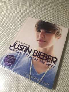 Justin Bieber Coffee Table Book
