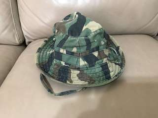 Army jungle hat for collection