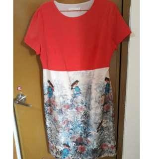 Accent Birdy Dress