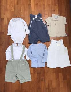 Boys clothes (12 months)