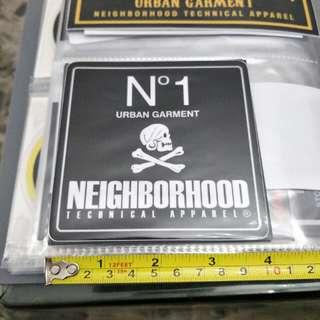 Neighborhood sticker