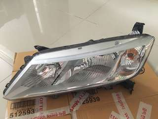 Honda City 2015 pre-facelift left front headlight (original)
