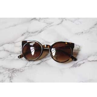 豹紋玳瑁貓眼膠框眼鏡墨鏡