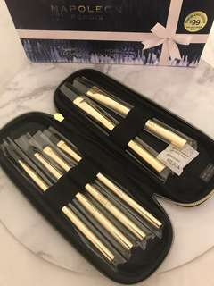 Napoleon Perdis brand new 6piece makeup brush set (valued over $200)