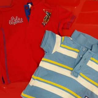 2 pc boys  Polo T Shirt