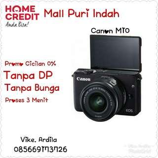 Cicilan tanpa Kartu Kredit Canon M10