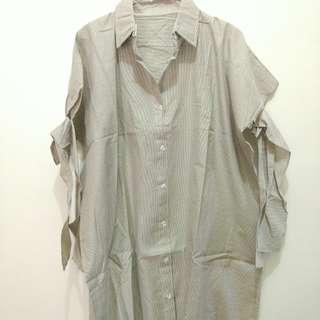 Kemeja/shirt/short dress L-Xl
