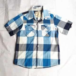 Boy's woven shirt (size M)