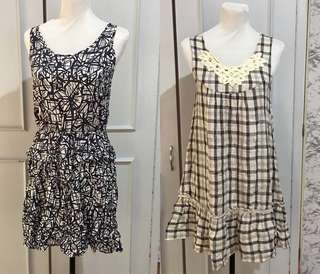 Buy one get one Summer dresses fit up to M