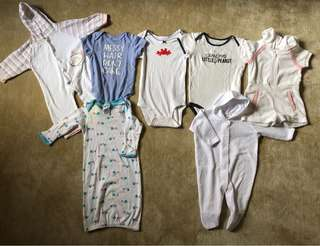 Assorted Unisex Onesies