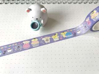 Cupcakes & Pompompurin Washi Tape #160