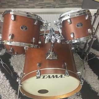 TAMA silverstar antique brown 100% birch Drum set