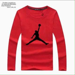 Jordan longsleeve size : S M L XL