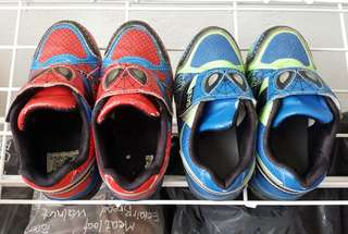 Boys spiderman shoes