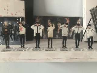2nd BTS Official Acrylic Standee