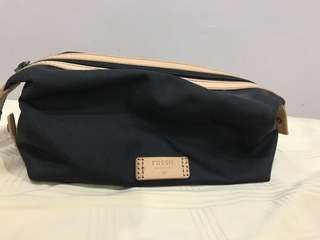 Fossil toiletries bag