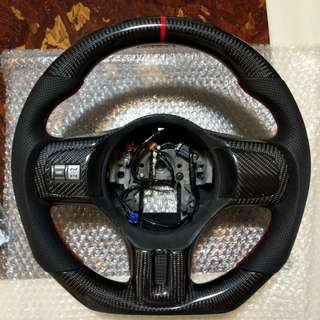 Evo X Carbon Steering