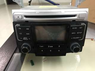 I45 Hyundai Sound system panel control original