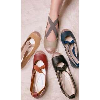 Flats shoes criss cross strap Item code: c1023