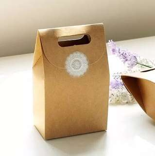 Gift paper Bag door gift wedding favours