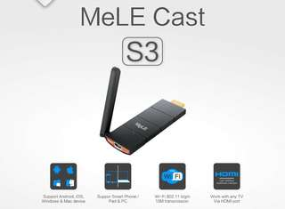 MeLE S3 無線 HDMI 高清傳輸