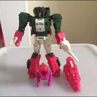 Takara tomy transformer skullcrusher