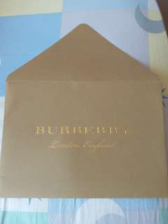 Burberry信封 (A5 size)