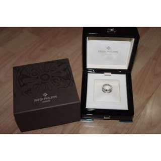 Patek Philippe Twenty 4 Ring White Gold with Diamonds sz 55