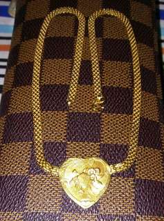 Saudi gold Choker Necklace