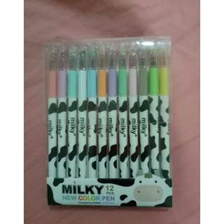 🆕 Milky color pen