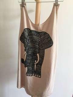 大象 背心 vest