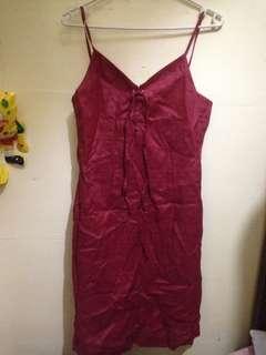 Preloved Red Dress 🥀