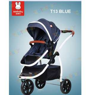 2018 *Seebaby* T13A European concept Jogging stroller