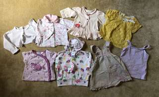 Assorted Baby Girl Tops