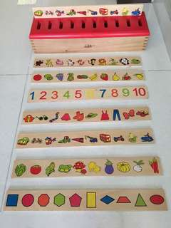 Children Sorting Box ( without packaging box, but hardly used)