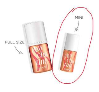 Benefit ChaCha Tint Mini