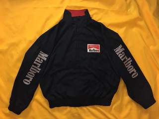 Vintage Reversible Spell out Marlboro jacket
