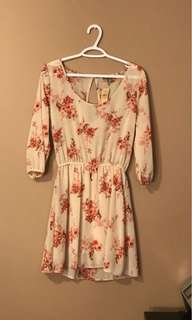 AE Long Sleeve Floral Dress
