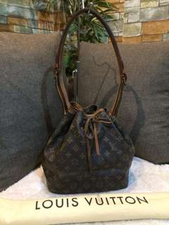 Authentic LV Noe Drawstring petite with Dustbag
