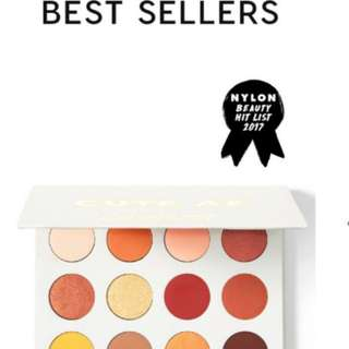 Yes Please Pressed Powder Shadow Palette Instock !!
