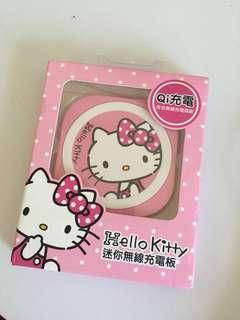 iPhone 安卓 hello kitty Qi無限充電