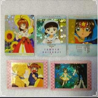 百變小櫻 Cardcaptor Sakura日本閃及白卡