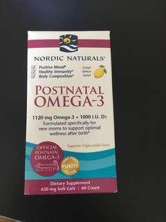 Nordic naturals omega -3 pills