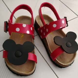 Disney Mickey Red Kids Sandal (3 to 4y)