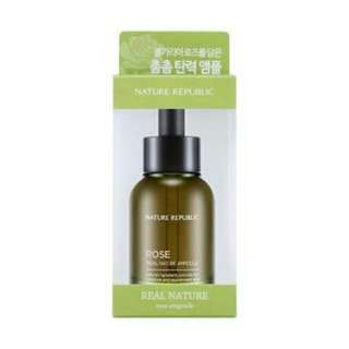 Nature Republic Rose Real Nature Ampoule   (Skin Serum From Nature Republic)